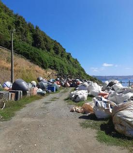 Ecofibras gestiona diversos residuos salmonicultores. Foto: Ecofibras.