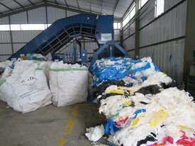 Planta de Ecofibras en Puerto Montt donde se tratan diversos residuos salmonicultores. Foto: Archivo Salmonexpert