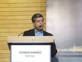 Esteban Ramírez, gerente general de Intesal. Foto: Archivo Salmonexpert.