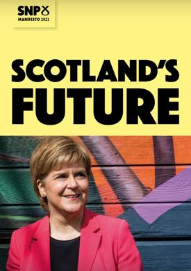 The SNP manifesto, published today, pledges to explore
