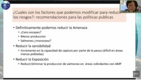 Recomendaciones de políticas públicas para reducir el riesgo de escapes. Fuente: Dra. Doris Soto.