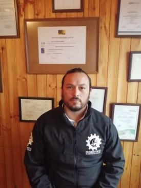 Gerente general de Submarina Chiloé SpA, José Baez. Foto: Submarina Chiloé SpA.