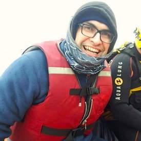 Pablo Joost, socio fundador de Lobo Marine Solutions. Foto: Cedida.
