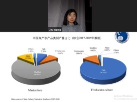 Yaping Zhu de la CAPPMA de China mencionó el tipo de consumo de seafood preponderantes en dicho país. Foto: Salmonexpert.