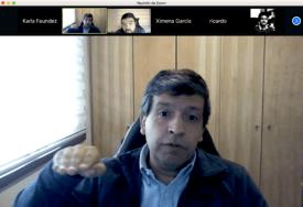 Esteban Ramírez, gerente general de Intesal en lanzamiento virtual de nuevo reporte.