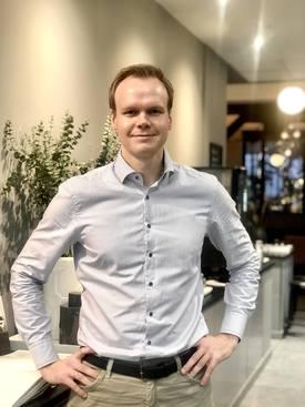 André Risholm, administrerende direktør i Amon Maritime. Foto: Amon Maritime