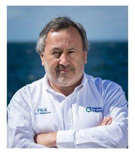 Andrés Sepúlveda, gerente de producción agua dulce de Salmones Austral. Foto: Salmones Austral.