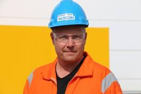 Leder for skipsbygging ved Westcon, Endre Matre. Foto: Helge Martin Markussen