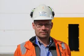 Prosjektleder Geir Heggen. Foto: Helge Martin Markussen