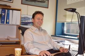 Daglig leder i LMG Marin, Torbjørn Bringedal . Foto: Gustav Erik Blaalid