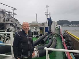 Skipper Ola Pettersen. Foto: Bjørnar Blaalid