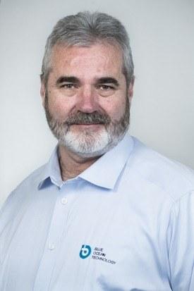 Jan Henning Legreid, jefe de Desarrollo de Productos y Ventas de Blue Ocean Technology. Foto: Blue Ocean Technology.