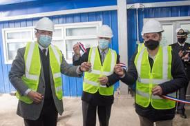 Compañía realizó ceremonia de inauguración de nueva planta. Foto: Abick.