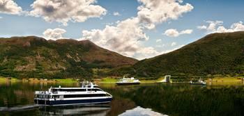 Stad skipstunnel gjør det mulig å forlenge ekspressbåtruten fra Bergen som i dag har Selje som endestasjon.