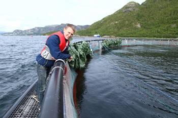 Daglig leder Lars Berg-Hansen fra NorseAqua er stolt over hva selskapet har fått til siden oppstart i 2014. Foto: Norseaqua.