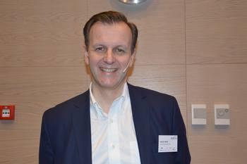 Fredrik Witte, administrerende direktør i Cargill Aqua Nutrition Nordsjøen sier Marineholmen er kraftsenteret i verdens marine hovedstad Bergen. Foto: Therese Soltveit/Kyst.no.