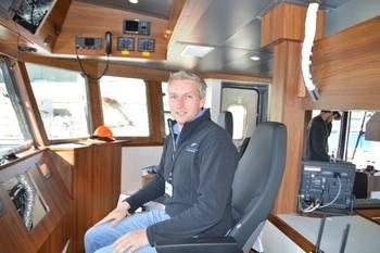 – Jeg er godt fornøyd med arbeidet, sier reder og administrerende direktør for Inverlussa, Ben Wilson