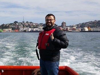 Víctor Vargas, gerente general de Solvtrans Chile. Foto: Solvtrans Chile.