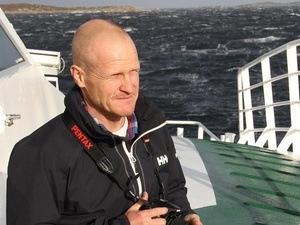 Fagsjef Erik Sterud i Norske Lakseelver mener havbruksnæringen må slutte å sminke grisen, og gi bortforklaringer. Klikk for større bilde. Foto: Henrik Wideswang Horjen.