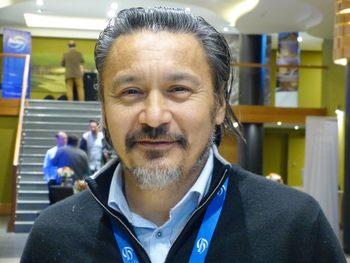 Óscar Garay, gerente de Farming de Salmones Magallanes.