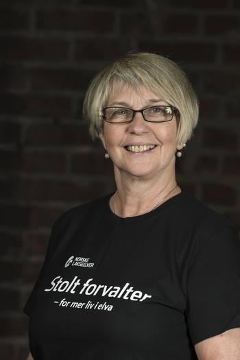 Gjenvalgt styreleder i Norske Lakseelver er Ragnhild Brennslett. Foto: Hans Kristian Krogh-Hansen.