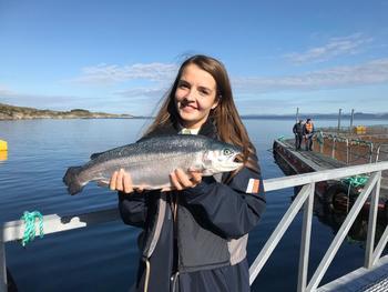 Camilla Solheim Nore, kontaktansvarlig for årets YoungFish konferanse 2019, opplyser at arrangementet nesten er fullbooket. Foto: Privat.