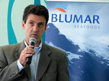 Pedro Pablo Laporte, gerente de Salmones Blumar. Foto: Archivo Salmonexpert.