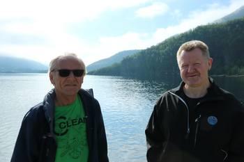 Søren Nikolai Balteskard og Bård Meek-Hansen. Foto: Sigbjørn Larsen