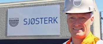 Torgeir Nærø som er konsernsjef i Bergen Group ASA sier deres satsing innen havbruk har fått en god start og de har allerede fått i havn sin første fôrflåte-bestilling. Foto: Bergen Group ASA.