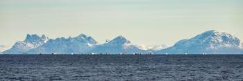 Oen Hatten var med inspeksjonsfartøyet «Rind» i Lofoten tidligere i år, der skreifisket var i full gang. Klikk for større bilde. Foto: Vegard Oen Hatten.