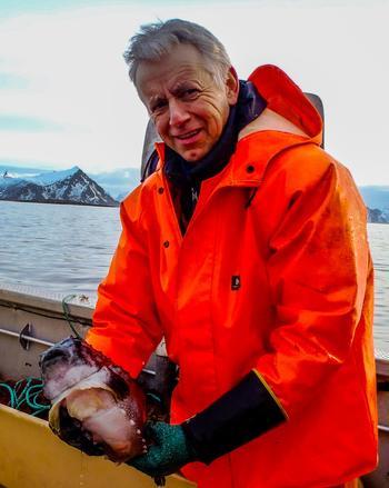 Daglig leder Dag Hansen i Arctic Cleanerfish sier at de i løpet av det siste året har fått større konkurranse ettersom det er kommet flere oppdrettere på markedet. Foto: Svenn Arne Olsen/Arctic Cleanerfish.