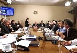 Diputados de la Comisión de Pesca respaldaron norma que modifica para situaciones especiales, la prohibición de captura de salmones de cultivo escapados. Imagen: Cámara de Diputados.