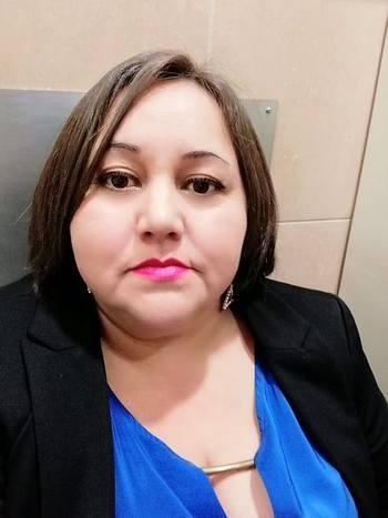 Marta Oyarzo, vocera de la Coordinadora Nacional de Trabajadores de la Industria Salmonera y Ramas Afines. Imagen: ARchivo Salmonexpert.
