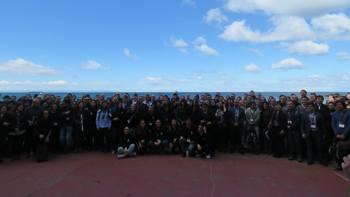 Alrededor de 350 personas asistieron a la primera jornada de la conferencia Sea Lice 2018. Foto: Francisco Soto, Salmonexpert.