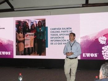 Hugo Contreras de Cargill Chile, mostró acciones concretas de la compañía en relación con las comunidades.