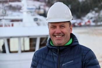 Arild Nubdal starter i jobben som operasjonsleder i Moen Marin Service like etter nyttår. Han har en god erfaring fra offshorenæringen, som han tar med seg i sitt nye arbeid. Foto: Eystein Fiskum/PKOM.