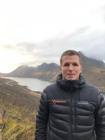Arne Moen, selger havbruk i Norlense sier de har mange FoU-prosjekter gående og mener resultatene hittil er veldig interessante for havbruksnæringen. Foto: privat.