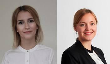 Henriette Mortensen, sikkerhetsingeniør i Safetec, og Reidun Værnes, som er prosjektleder i Safetec Insight ønsker å visualisere og vise frem data fra havbruksnæringen på en enkel og oversiktlig måte. Foto: Privat
