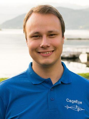 Bendik S. Søvegjarto, CEO og daglig leder i CageEye sier han er svært fornøyd med å ha fått Lena og Kasper med på laget. Foto: CageEye.