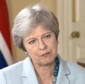 Statsminister Theresa May tapte med 149 stemmer under gårsdagens avstemning i underhuset om brexit-avtalen.