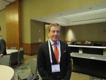 Ricardo García, vicepresidente de Salmones Camanchaca. Foto: Archivo Salmonexpert.