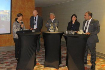 Panel sobre Salud de Peces. Foto: Karla Faundez, Salmonexpert.