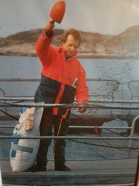 Per Anton Løfsnæs har jobbet som daglig leder i Bjørøya AS i over 33 år, nå er han klar for nye utfordringer. Her ser du ett bilde av