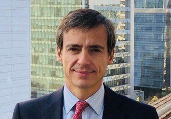 Manuel Arriagada, gerente general de Salmones Camanchaca. Foto: Salmones Camanchaca.