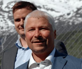 Daglig leder Stig-Joar Krogli i SalmoBreed Salten forteller at prosessen fram til det nye anlegget har vært ufattelig lærerik. Foto: Harrieth Lundberg