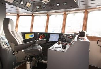 Slik ser båten ut innvendig. Foto: Fo2rger