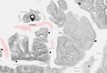 SjurelvFiskeoppdrett er rammet på sin lokalitetVengsøy. Selskapet driver til sammen tre lokaliteter. Skjermdump: BarentWatch.