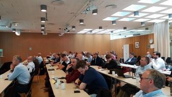 Seminaret digitalisering av sjømatnæringen ble arrangsjert i Næringslivets Hus i Oslo. Foto: Harrieth Lundberg