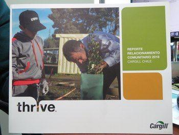 Memoria Reporte Relacionamiento Comunitario 2018 de Cargill Chile. Foto: Karla Faundez, Salmonexpert.