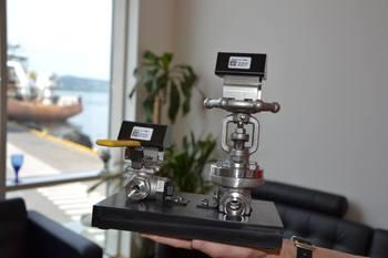 Denne teknologien vil hjelpe næringen med overvåkning av manuelle ventiler. Foto: Margarita Savinova.